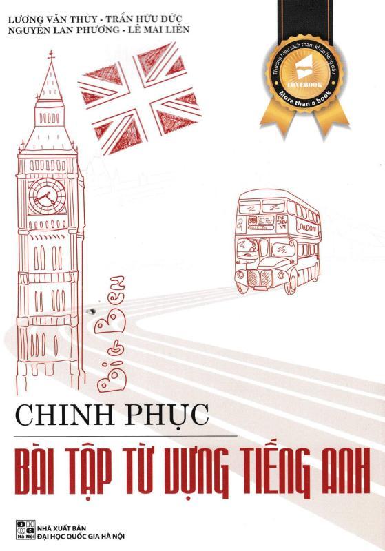 Mua Chinh Phục Bài Tập Từ Vựng Tiếng Anh