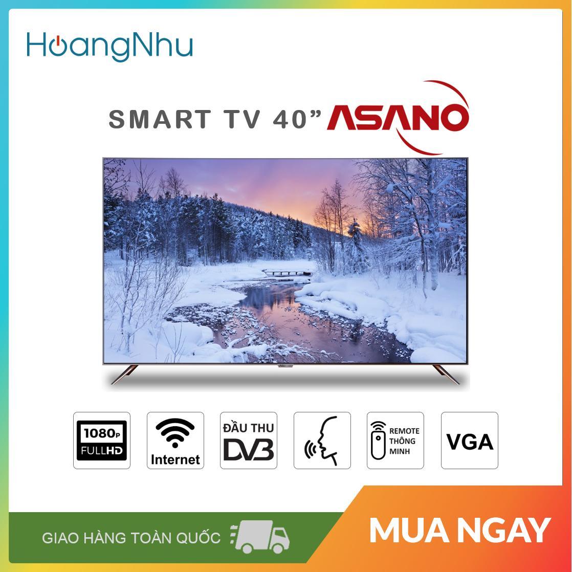 Bảng giá Smart Voice TV Asano 40 inch 40EK7 (Full HD, Android 7.1.1, Wifi, Bluetooth, Truyền hình KTS) - Bảo hành toàn quốc 2 năm
