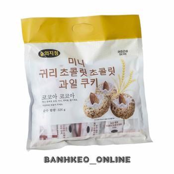 Bánh ngũ cốc Hạnh Nhân & Hạt Điều 326 gr Hàn Quốc