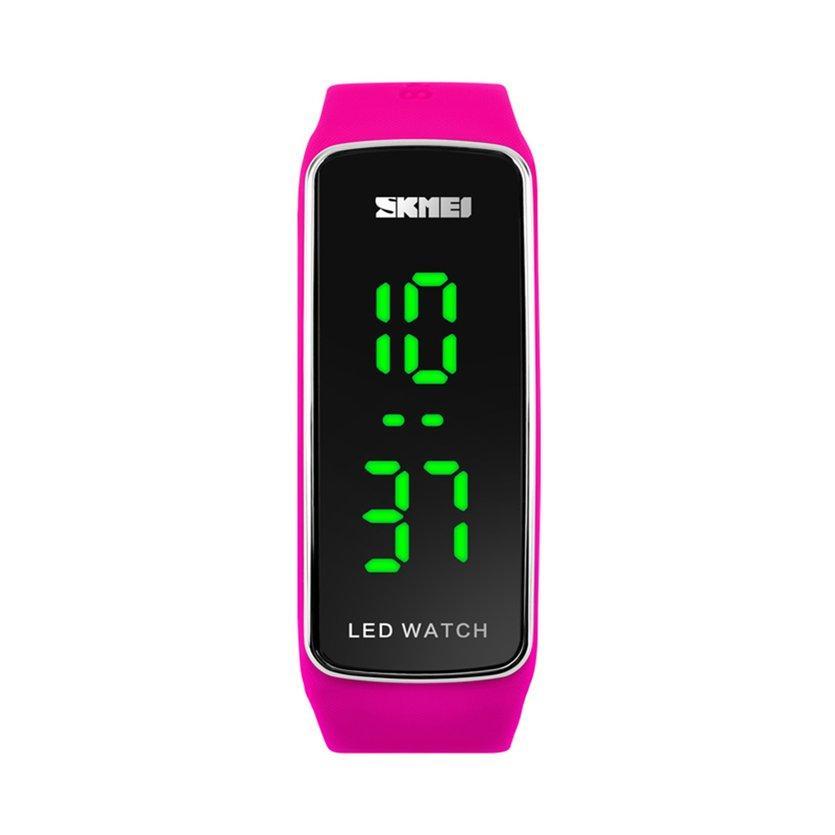 Here SKMEI 1119 Men Women Outdoor Sports Watch LED Digital Date Time Wristwatch