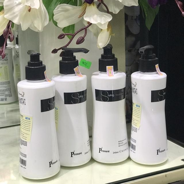 Gel mềm tạo kiểu tóc xoăn Prosee Curl Designer 240ml cao cấp