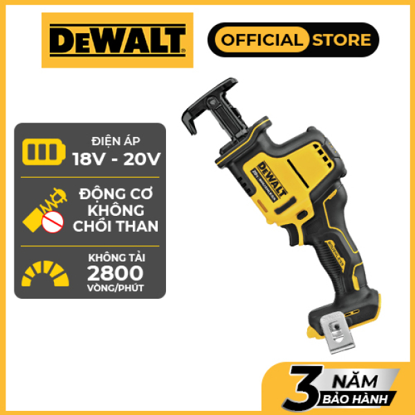 [Trả góp 0%] Máy cưa cầm tay dùng điện Dewalt DCS369B ( KHÔNG BAO GỒM PIN SẠC)| 18-20VMAX | Bảo hành 3 năm | Chính hãng