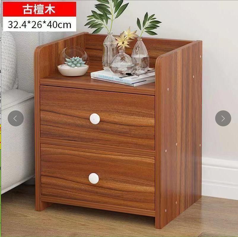 Tủ đầu Giường Bằng Gỗ, Tủ Mini Kệ đầu Giường đơn Giản Tự Nhiên Sẵn Có Giá Sốc Không Thể Bỏ Qua