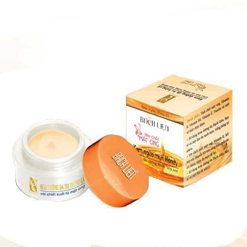 Kem ngừa mụn Honey Bạch Liên (lọ 15gram)
