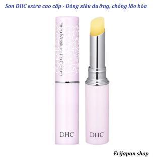 Son dưỡng ngừa thâm môi DHC không màu Nhật Bản 1.5gr loại siêu dưỡng Extra Moisture thumbnail