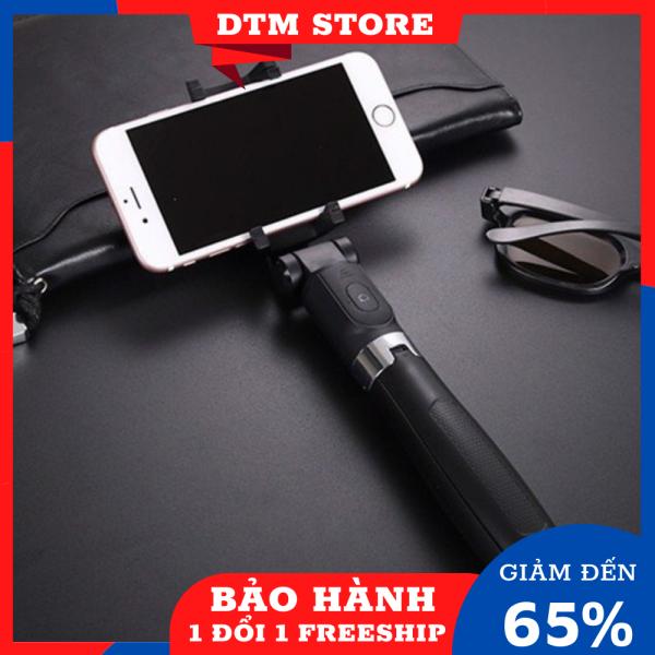 Gậy chụp ảnh tự sướng điều khiển bluetooth không dây - Gậy tự sướng Bluetooth Selfie stick tripod L01 cao cấp - Gậy chụp hình 3 chân kiểu tripod có remote bluetooth điểu khiển từ xa DTM Store