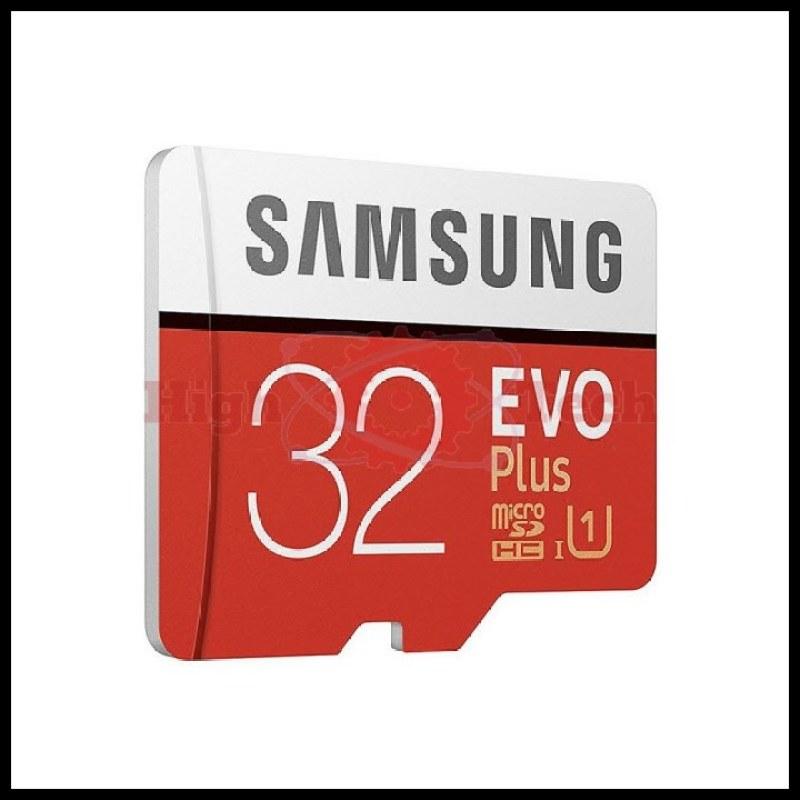 Thẻ nhớ microSDHC Samsung 32GB EVO up to 95MB-s kèm Adapter tặng đầu đọc thẻ micro