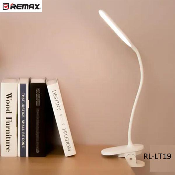 Đèn LED để bàn uốn dẻo tích hợp kẹp đa năng REMAX RL-LT19