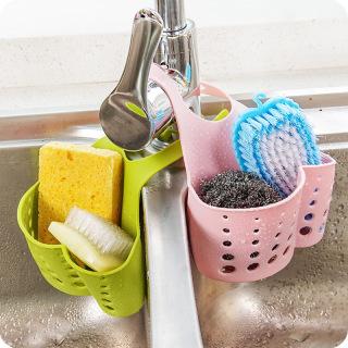 Giỏ Treo Giẻ Rửa Bát Loại Nhựa Dẻo Cao Cấp thumbnail