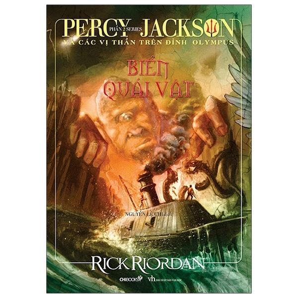 Fahasa - Percy Jackson Và Các Vị Thần Trên Đỉnh Olympus - Phần 2: Biển Quái Vật (Tái Bản 2020)