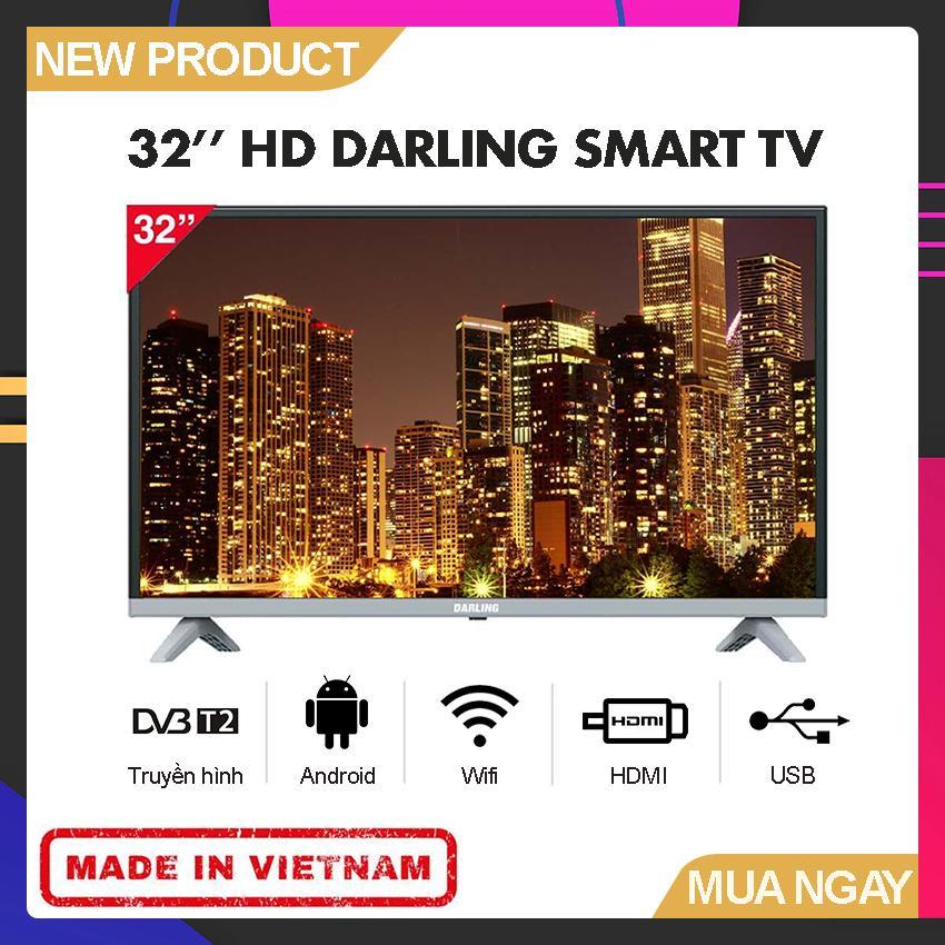 Bảng giá Smart TV Darling 32 inch HD - Model 32HD960S1 (HD Ready, Tích hợp DVB-T2, Wifi) - Bảo Hành 2 Năm