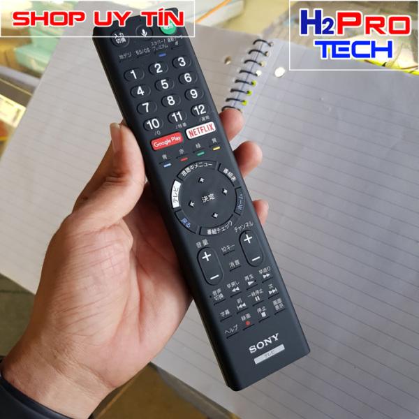 Bảng giá Điều khiển tivi Sony RMF-TX200J TV tiếng Nhật, Remote tv sony tặng đôi pin