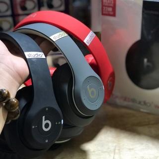 [ Miễn Phí Ship ] Tai Nghe Bluetooth Chụp Tai JBL Beats Studio Wireless 22hr, Tai Nghe Khử Tiếng Ồn Không Dây Mới , Âm Thanh Đỉnh Cao, Pin Cực Trâu, Micro Tích Hợp Sẵn , Sale Sập Sàn 50% thumbnail