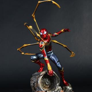 [HCM]Mô hình Avengers - Mô hình Iron Spider Man người nhện 16cm AV01 thumbnail
