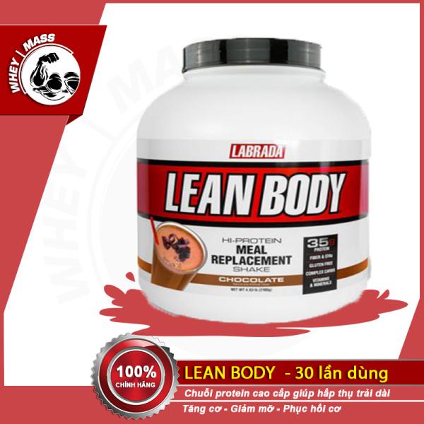 [ Quà ] Sữa Bột Thay Thế Bữa Ăn Và Xây Dựng Cơ Bắp Cực Đỉnh Labrada Lean Body 4.63lbs