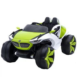Ô tô xe điện đồ chơi XJL-688 2 ghế 4 động cơ 12V 7AH cho bé vận động (Đỏ-Xanh-Cam) thumbnail