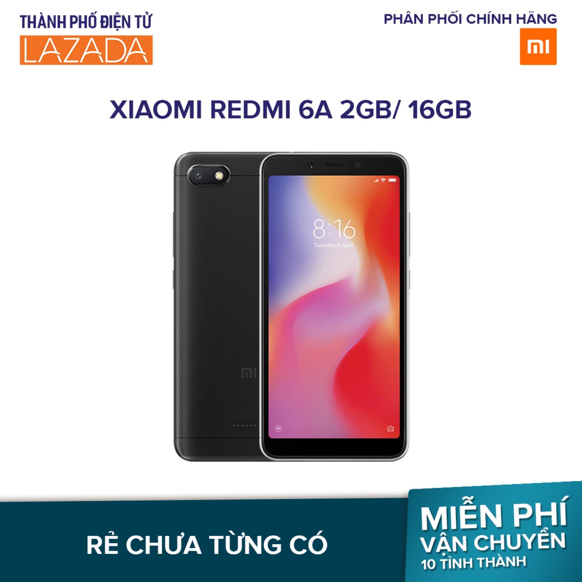Xiaomi Redmi 6A 16GB Ram 2GB – Hãng phân phối...