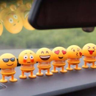 [Combo 6 Thanh Niên] Lật Đật Icon Emoji Lò Xo Nhún Đồ Chơi Xả Stress - Lật Đật Icon Lò Xo Để Xe Ô Tô Vui Nhộn - Cục Xì Ngầu Là Ông Bê Lắc - Ông Bê Lắc - Thú Nhún Emoji thumbnail