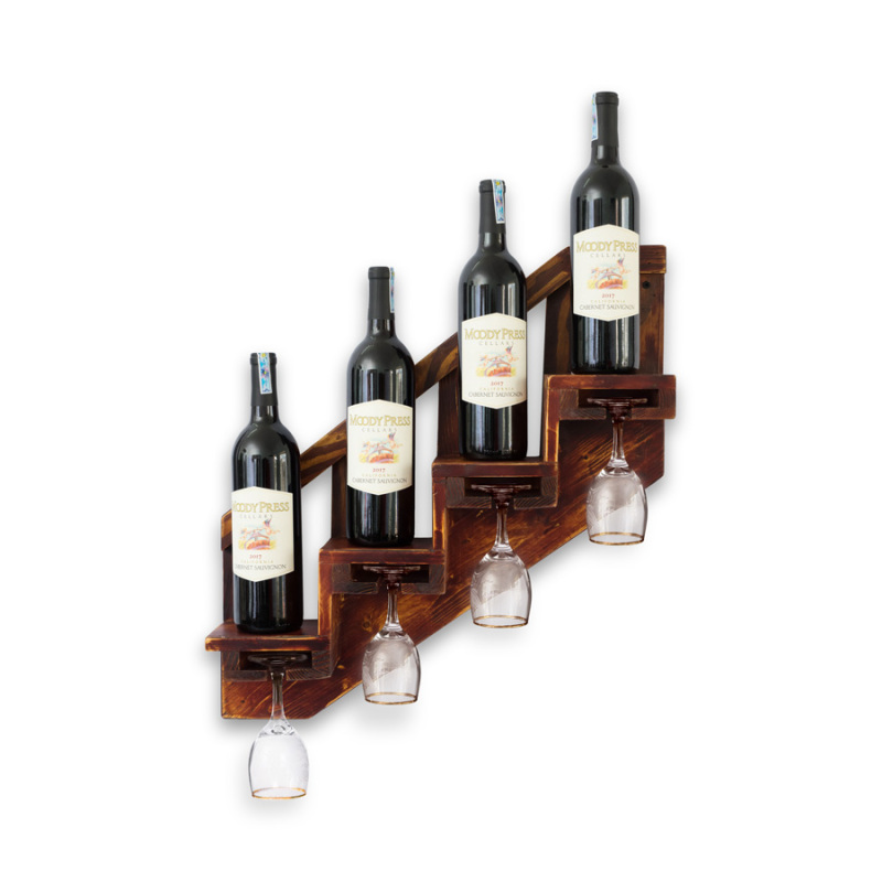 Kệ Rượu Treo Tường KR13