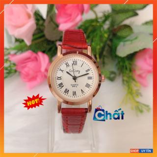 Đồng hồ nữ chính hãng Ulzzang dây da cao cấp, đồng hồ nữ sang trọng, mặt kính sapphire chống chầy xước, đồng hồ nữ chống nước tốt, 3 màu dây cực đẹp và sang trọng, phong cách thời trang sinh viên Hàn Quốc - BH 1 NĂM thumbnail