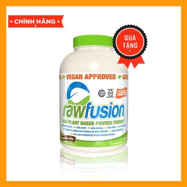 Sữa Tăng Cân Thực Vật Ít Tăng Mỡ Raw Fusion 4lbs - Thực Phẩm Chay Dành Cho Mọi Đối Tượng