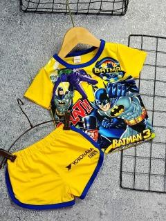 [Ảnh Thật Shop Chụp] Bộ quần áo bé trai chất liệu thun dày mịn thoáng mát in hình 3D được các bé trai yêu thích bán theo mẫu Ngắn Tay và Ba Lỗ (8-22Kg) thumbnail