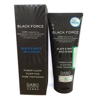 [Chính Hãng] Sữa Rửa Mặt Làm Sạch Sâu Cho Nam Dabo Black Force For Men thumbnail