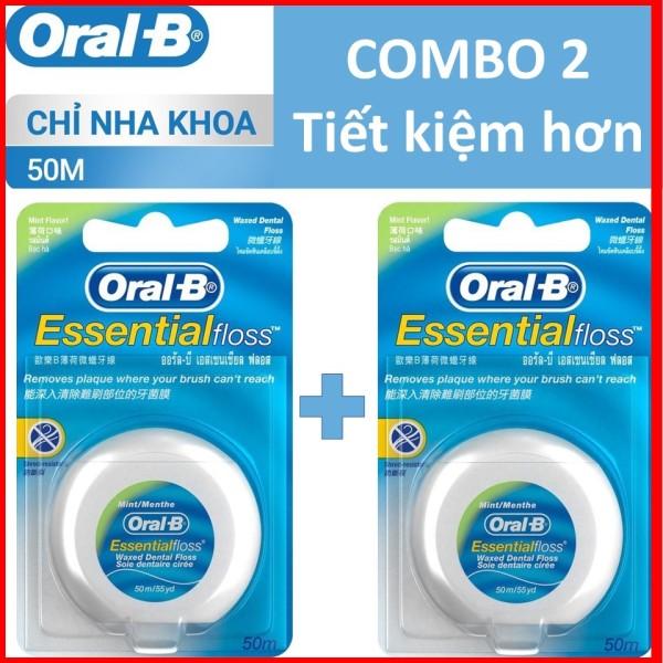 COMBO 2 Chỉ nha khoa Oral B  50m giá rẻ