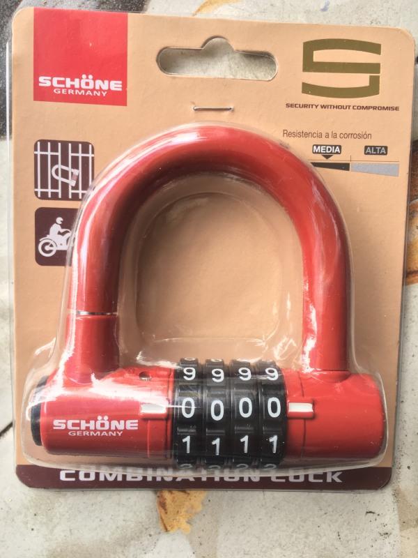 [HCM]Khóa số chữ U chính hãng Schone SC701
