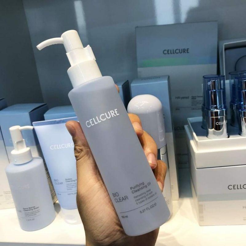 Dầu tẩy trang sạch sâu Cellcure cao cấp
