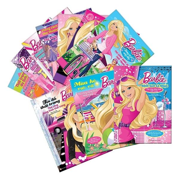 Mua Fahasa - Bộ Sách Tuyển Tập Barbie Thủ Công Dựng Hình Thời Trang (Trọn Bộ 10 Cuốn)