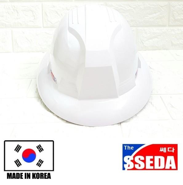 Mũ bảo hộ lao động vành rộng SSEDA Hàn Quốc màu trắng; đỏ;vàng