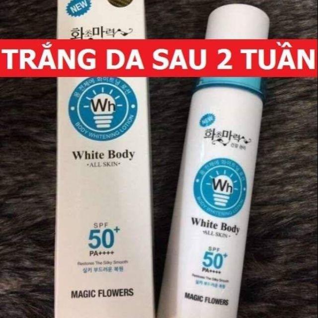 KEM WHITE BODY SPF50++ tốt nhất