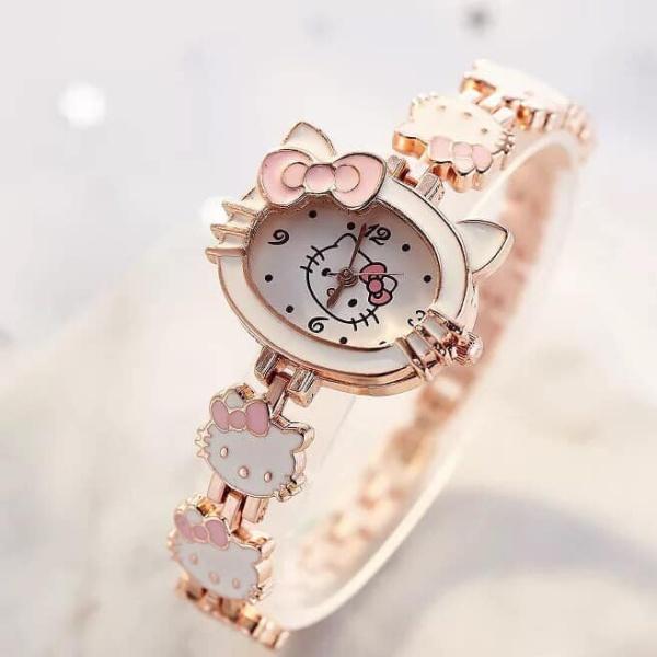 Nơi bán Đồng hồ đeo tay cho bé ,đồng hồ kitty siêu kute cho bé từ 1-10 tuổi, đồng hồ cho bé