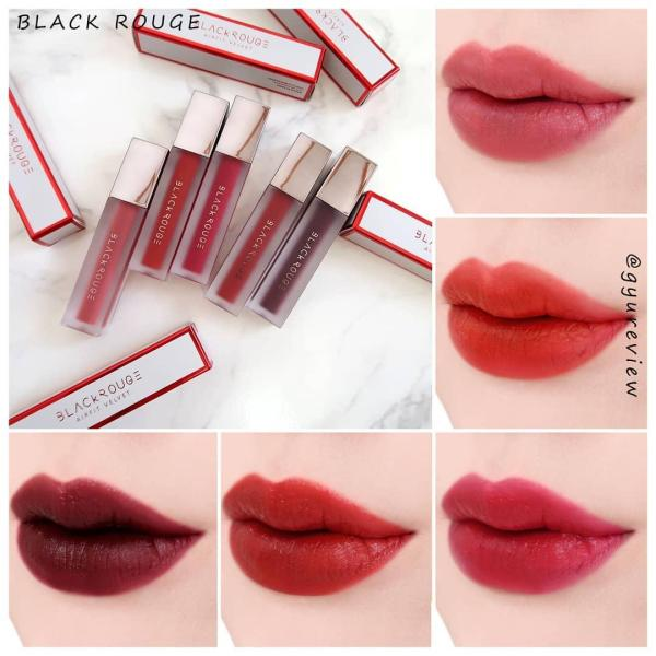 (ver6)SON KEM LÌ SIÊU MỊN BLACK ROUGE AIR FIT VELVET TINT VERSION 2