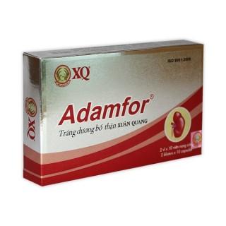 [Combo 2 hộp] Viên uống Adamfor Giúp bổ thận tráng dương , tăng cường sinh lý ở nam giới - adamfor2 thumbnail