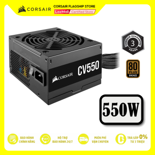 Nguồn máy tính CORSAIR CV550 - 80 Plus Bronze thumbnail