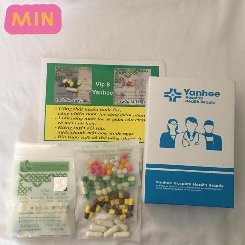 (SIÊU SALE 12.12) Giảm cân vip 8 Yanhee giảm mạnh ( liệu trình 2 tuần) cao cấp
