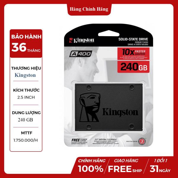 Bảng giá [Giảm Giá Sốc-Shop Mới] Ổ cứng SSD Kingston A400 240GB Sata 3 (SA400S37/240G) - Hàng Chính Hãng Phong Vũ