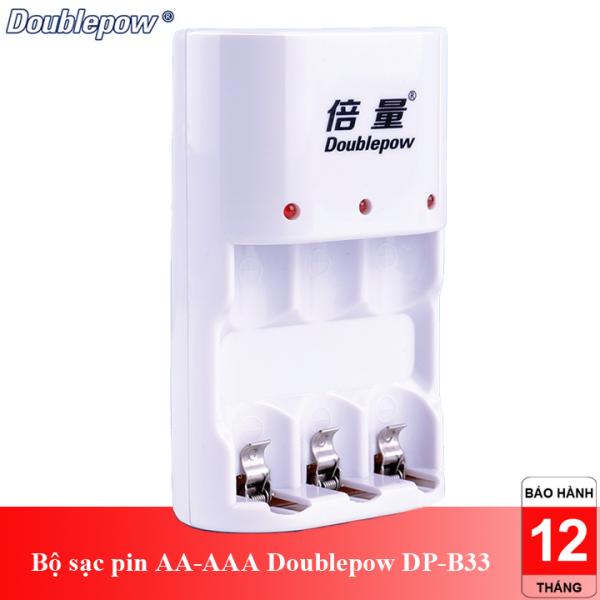 Giá Bộ sạc pin tiểu pin đũa AA-AAA Doublepow DP-B33