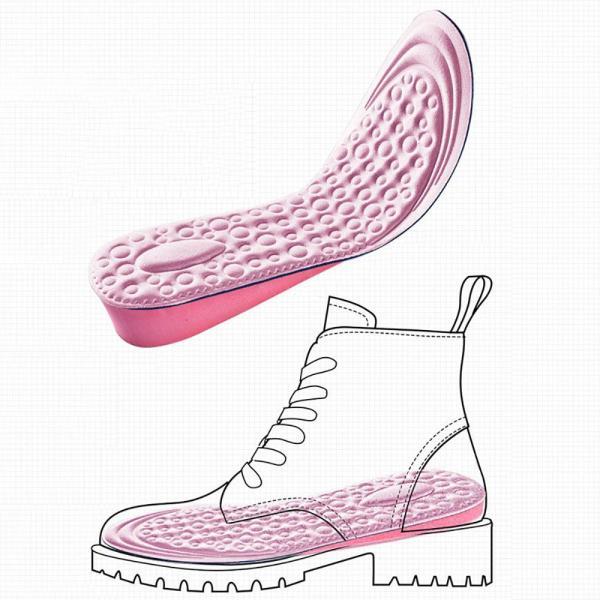 Giá bán ENGZHAN Miếng Lót Giày Đế Xốp Tăng Chiều Cao Bên Trong Vô Hình Cho Nữ Miếng Lót Giày, Phụ Kiện Giày Lót Tăng Chiều Cao