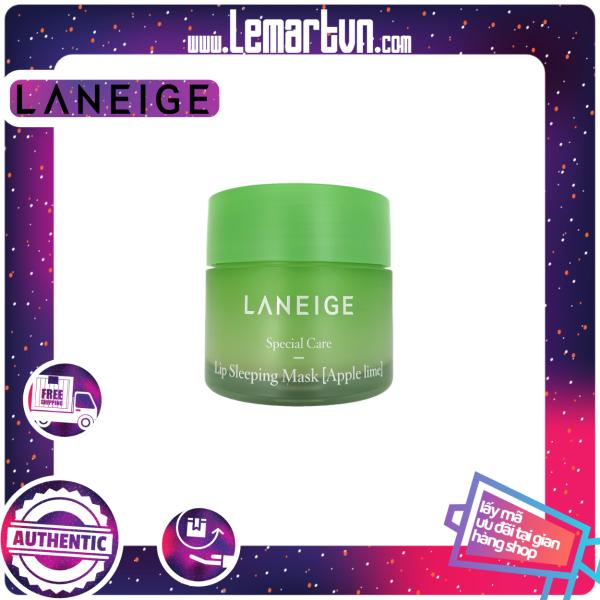 Mặt nạ ngủ dưỡng môi Laneige - Lip Sleeping mask 20G (Vị Táo).  Giúp môi mềm mượt, căng mọng và đàn hồi cùng với mùi thơm nhẹ nhàng. Hàng xách tay cao cấp