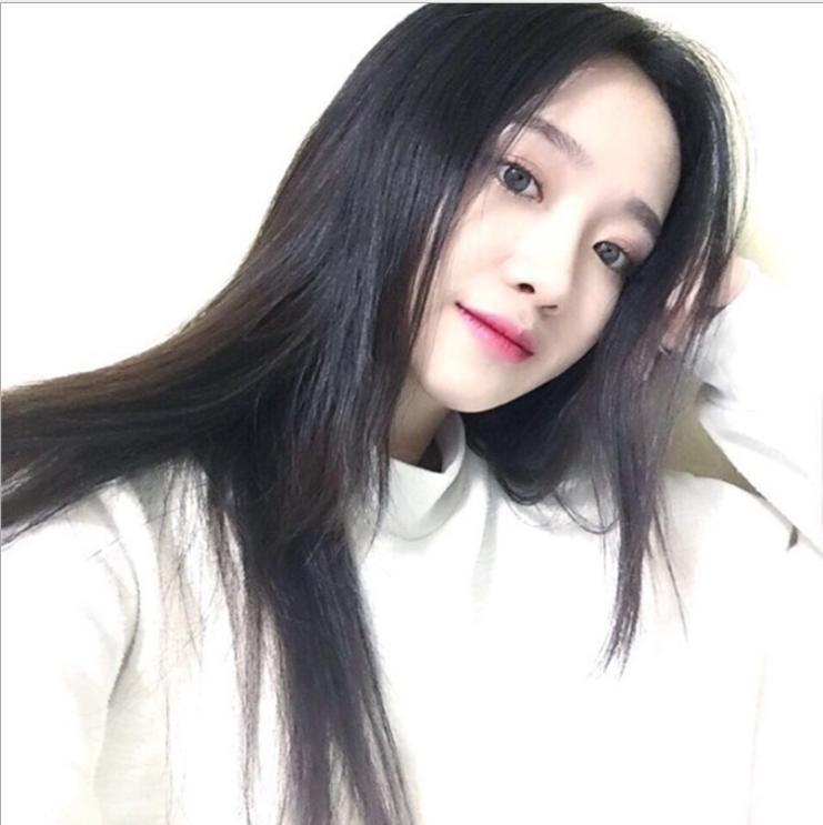 [TẶNG KÈM LƯỚI] Tóc giả nữ nguyên đầu sợi tơ Hàn Quốc CÓ DA ĐẦU - TG21 ( MÀU ĐEN )