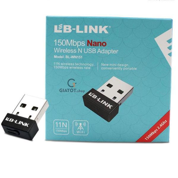 Giá USB thu sóng wifi LB-Link tốc độ 150 Mbps chuyên dụng cho đầu thu kỹ thuật số