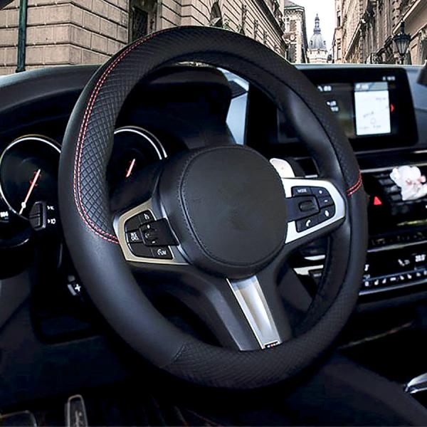 Bọc vô lăng, bọc tay lái ô tô da 3D nổi cao cấp, phù hợp với tất cả dòng xe F22