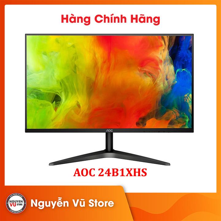 Màn hình máy tính AOC 24B1XHS/74 23.8 inches FHD IPS - Hàng Chính Hãng