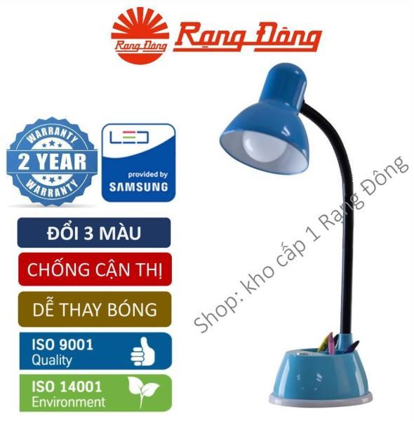 Đèn bàn LED chống cận đổi 3 màu 7W Rạng Đông, Samsung chipLED. RL.25.DM3