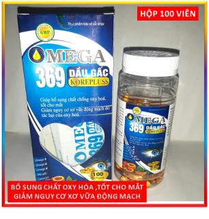 100 Viên Dầu Gấc Tinh Khiết Kết Hợp Omega 369, Tăng Cường Dưỡng Chất Và Phát Triển Cho Não Bộ - FRANCE thumbnail
