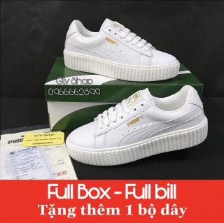 Tặng hộp, bill và Dây lụa - Giày thể thao nam nữ Puma loại đế vân răng cưa, size 36-39. 7