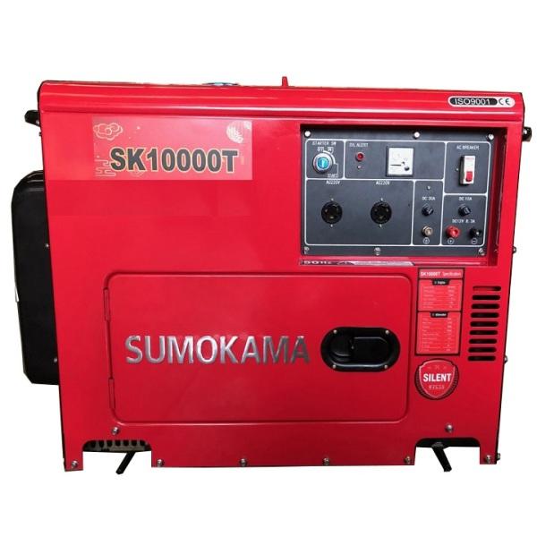 Máy Phát Điện Chạy Dầu 7Kw Sumokama SK10000T NEW